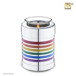 Rainbow Small Tea Light Urn