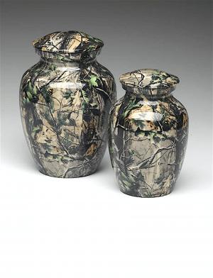 Camouflage Cremation Urns