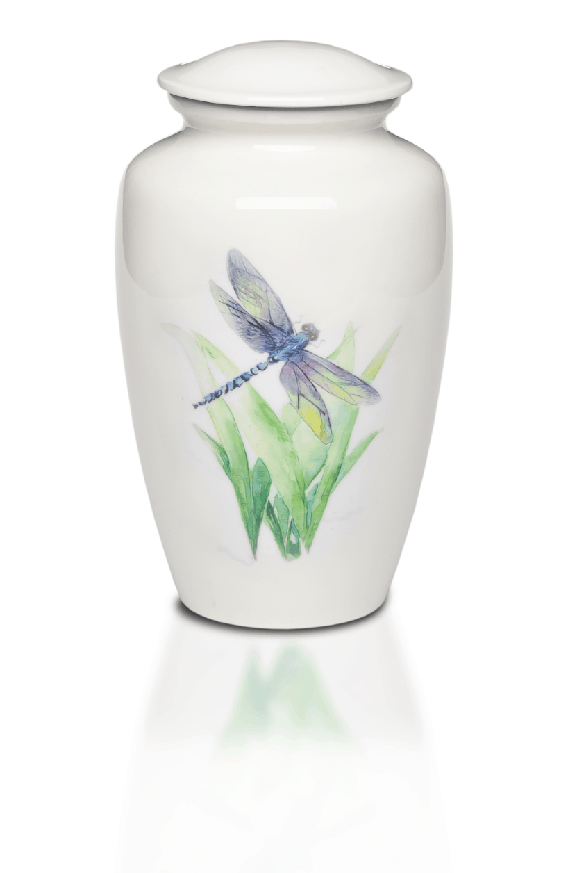 Dragonfly Adult Cremation Urn Made With Alloyed Material