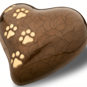 heart pearl bronze-with-gold-polished-tone-paw-prints large