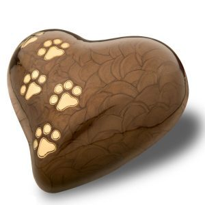 heart pearl bronze-with-gold-polished-tone-paw-prints medium
