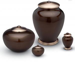 Earth Tone Pearl Urns