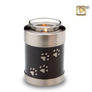 Pet Paw Print Tea Light Urns