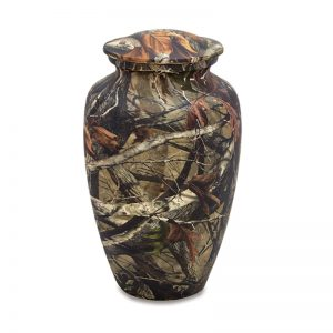 Adult Camouflage Urn